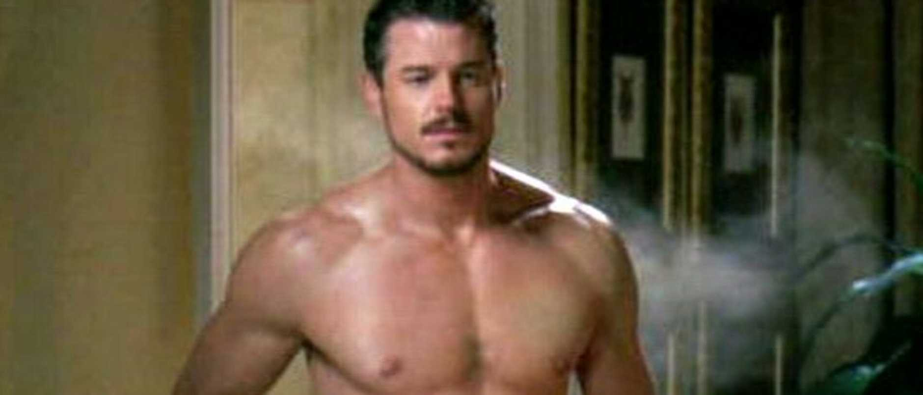 Actor Eric Dane aka McSteamy and his torso, makes their beautiful debut in episode 2 of TV show 'Ugly Betty'.