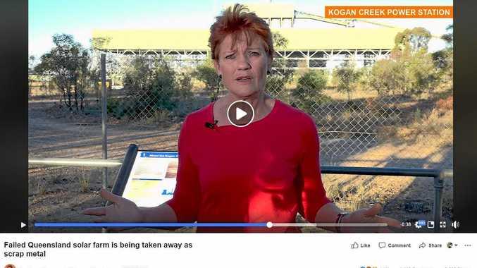 Hanson slams government over failed solar project
