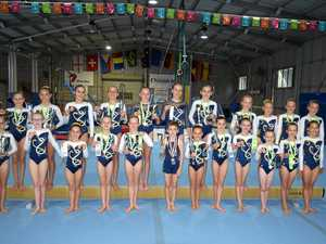 Hard work gets results for gymnastics club