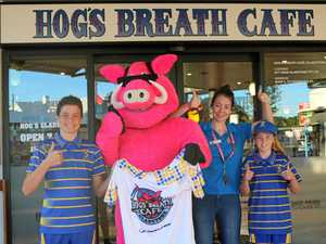 Teams want to announce themselves in Sunday's Hogs Breath