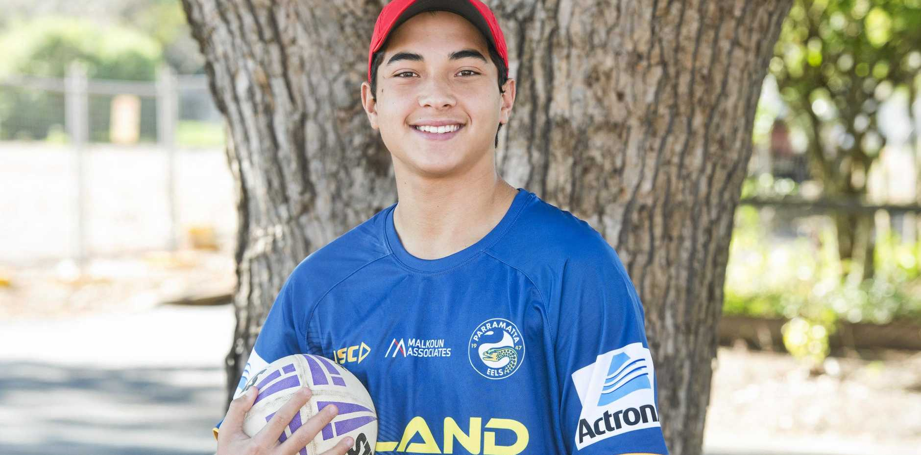 THE REAL DEAL: Toowoomba Valleys player Kooper Diment has signed a four-year contract with the Parramatta Eels after impressing in Darling Downs school rugby league.