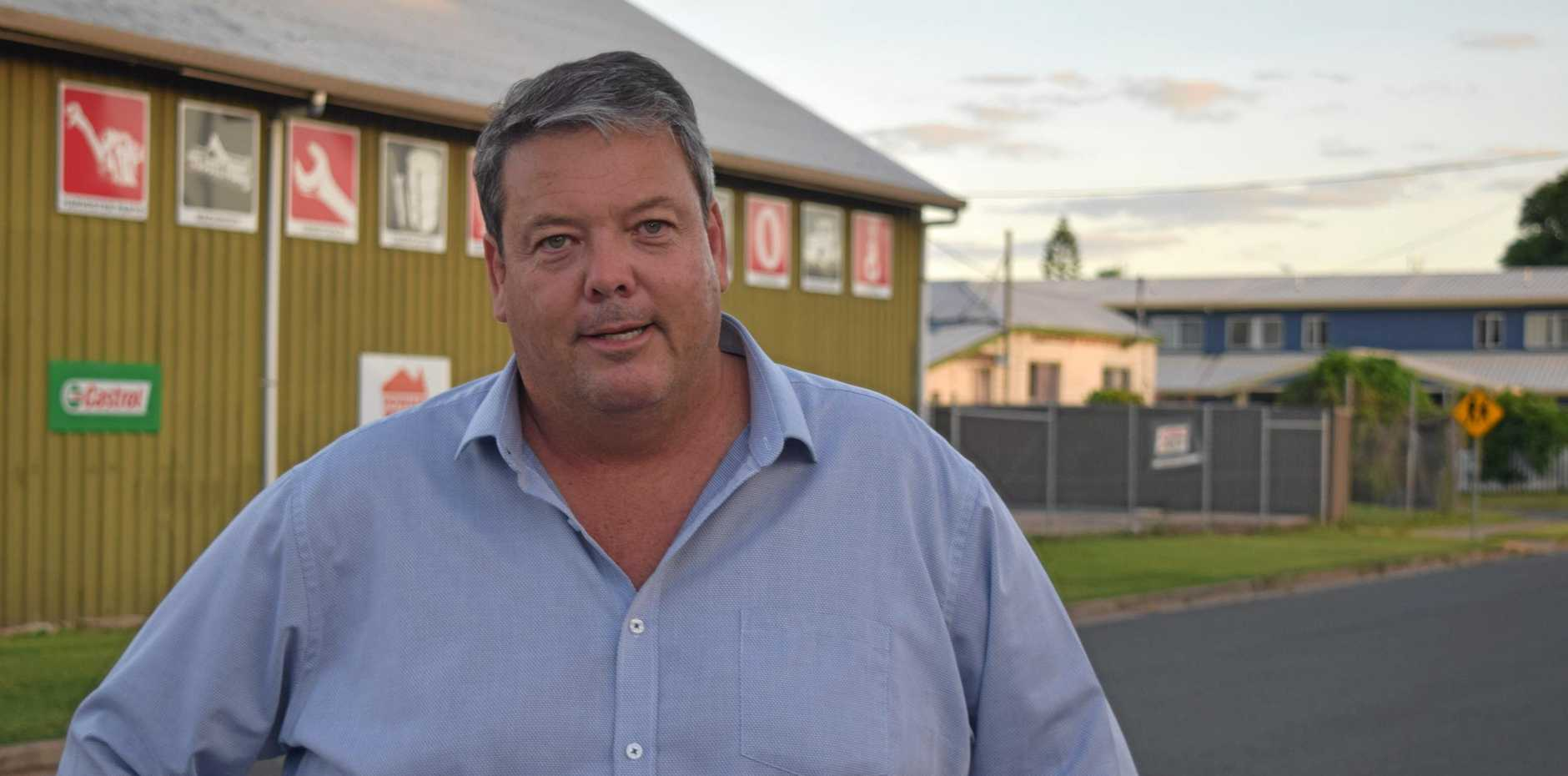 IN THE BUDGET: Whitsunday Regional Council Mayor Andrew Willcox.