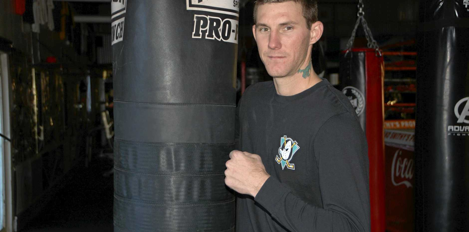 Toowoomba's Brent Moore takes on Matthew Hartmann this weekend for the Queensland middleweight championship.