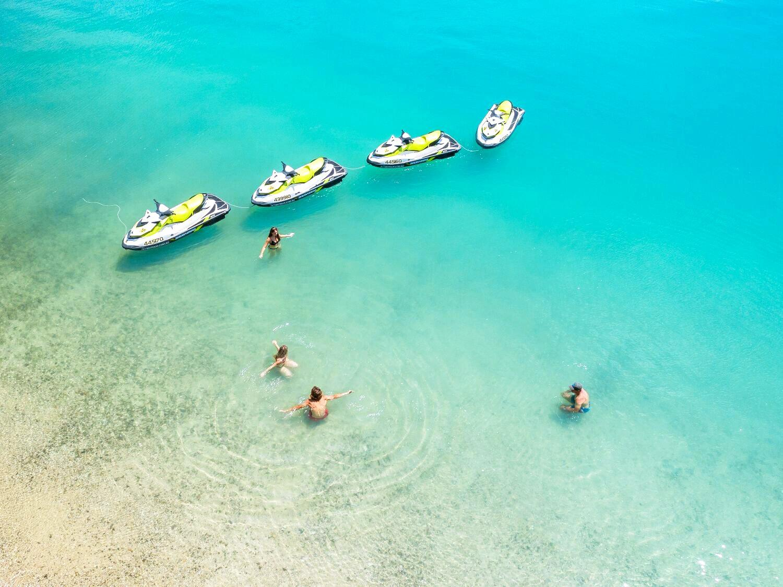 TOP SPOT: Whitsunday Jet Ski Tours has taken out the top spot in Trip Advisor's Top 10 Experiences in Australia.