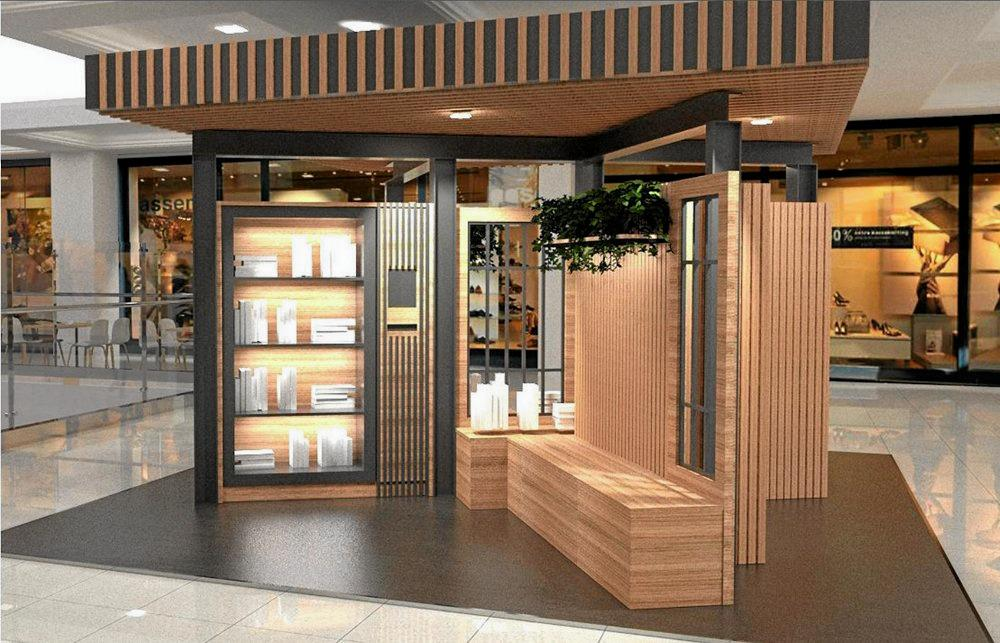 A new 'Library Pod' will be installed at the redeveloped Karalee Shopping Centre.