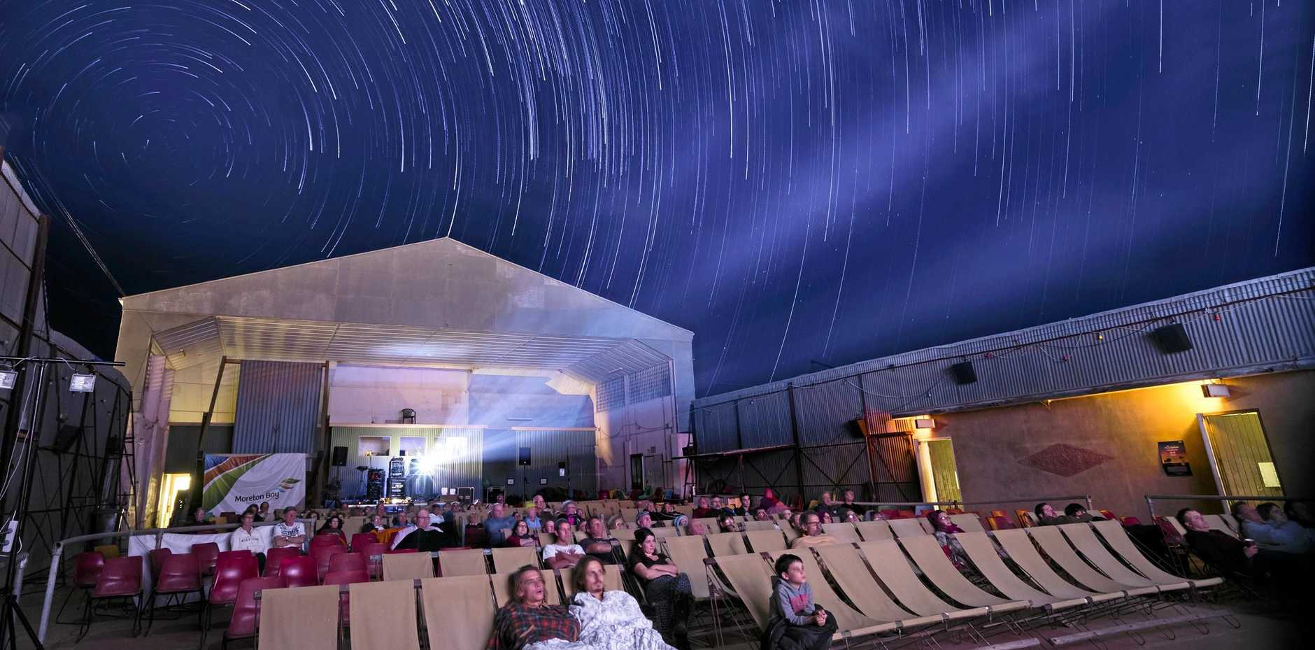 Winton's Royal Open Theatre, the oldest open-air cinema still operating in Australia, is one of two venues for the sixth annual Vision Splendid Outback Film Festival.
