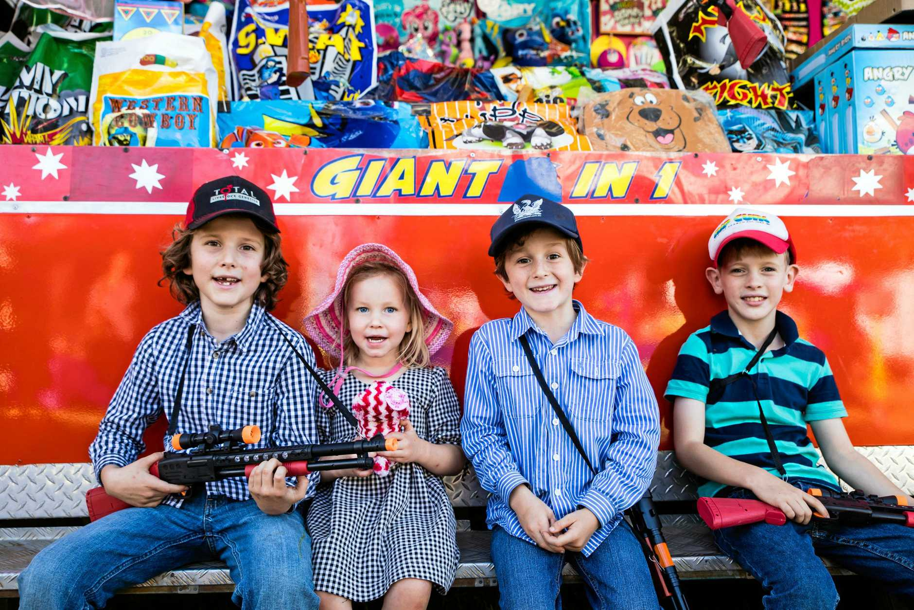 The region's show fun comes to a close today with People's Day at Mackay Show.