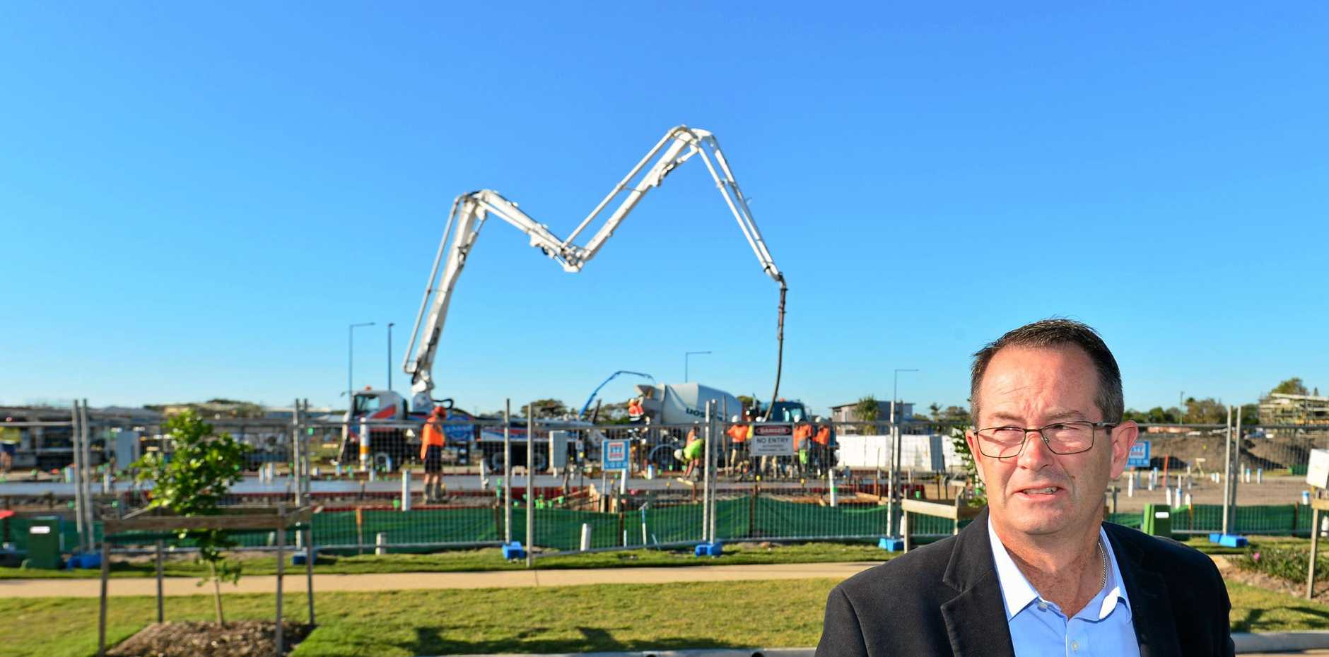 CONSTRUCTION CRISIS: Federal Member for Fisher Andrew Wallace has called for Queensland Housing Minister Mick de Brenni to resign over the professional indemnity crisis wich he said had the potential to destroy the state's building industry.