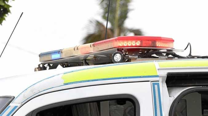 Woman taken to hospital with minor leg injuries