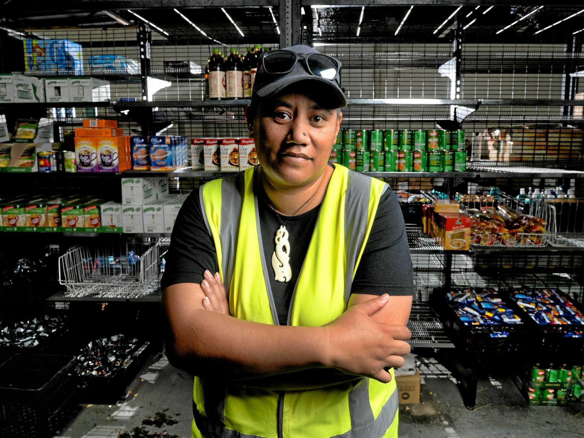 Ipswich Food Barn managing director Qim Kauwhata