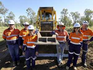 Construction starting at Adani site