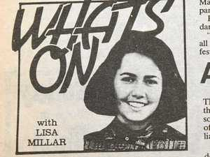 I was a cadet journalist with Lisa Millar back in the day
