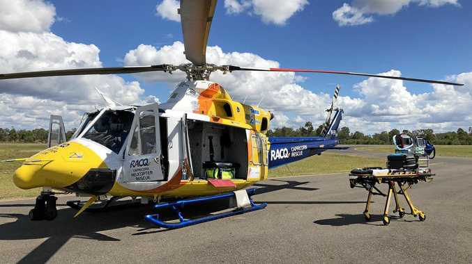 Inskip scuba diver flown to hospital in serious condition