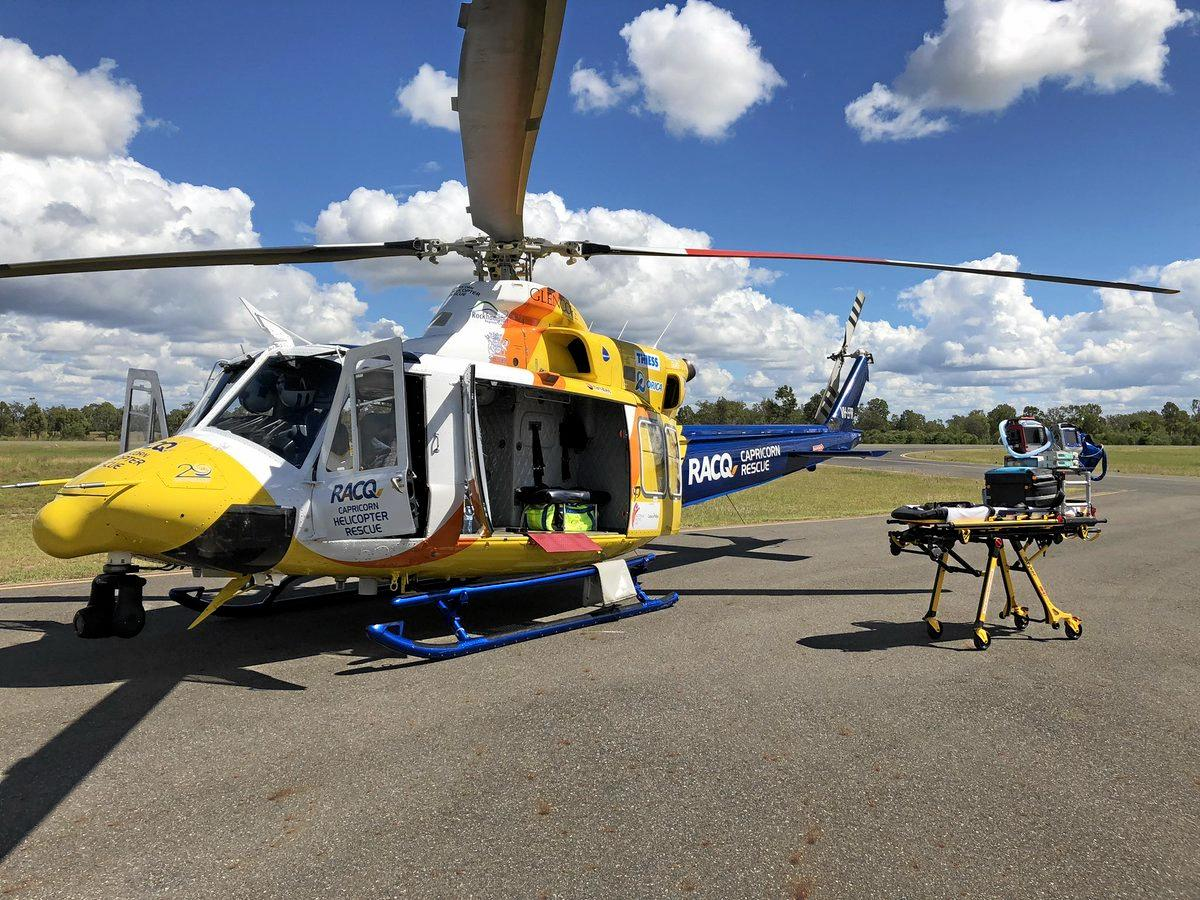 RACQ Helicopter Rescue Service. FILE PHOTO