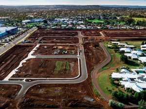 Inner-city housing estate: See development from above