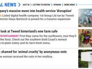 Your questions answered on Tweed Daily News changes