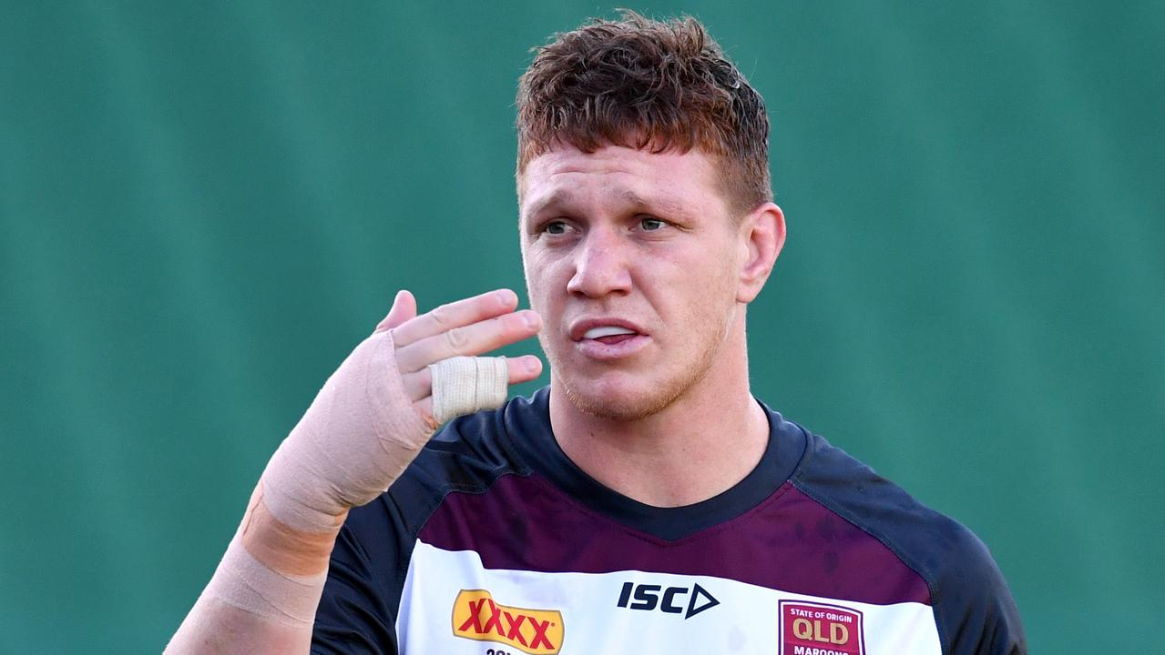 Dylan Napa will attempt to play Origin II with a broken wrist.