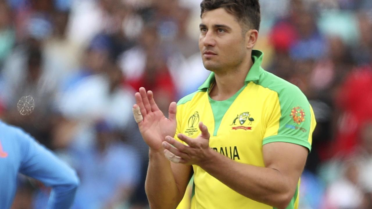 An injury to Marcus Stoinis led to knock-on changes for Australia's line-up.
