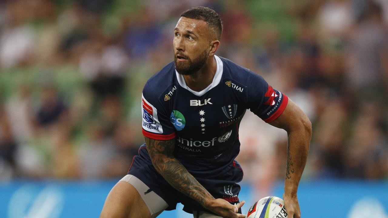 Quade Cooper will stay in Japan after the World Cup and play for Kintetsu Liners. Picture: Getty Images