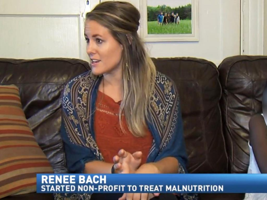 The Serving His Children organisation, which was founded by Ms Bach, has refuted claims she presented herself as a medical professional. Picture: ABC13 News