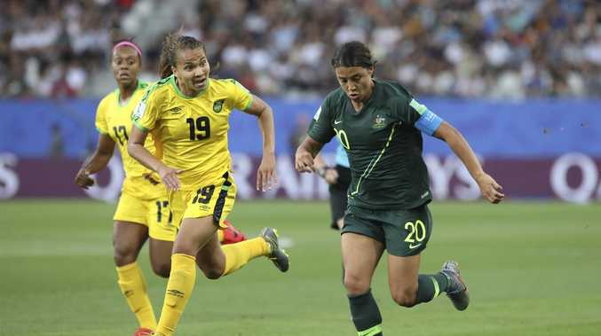 Sam Kerr's insane World Cup rampage