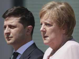 Fears after Merkel seen shaking uncontrollably