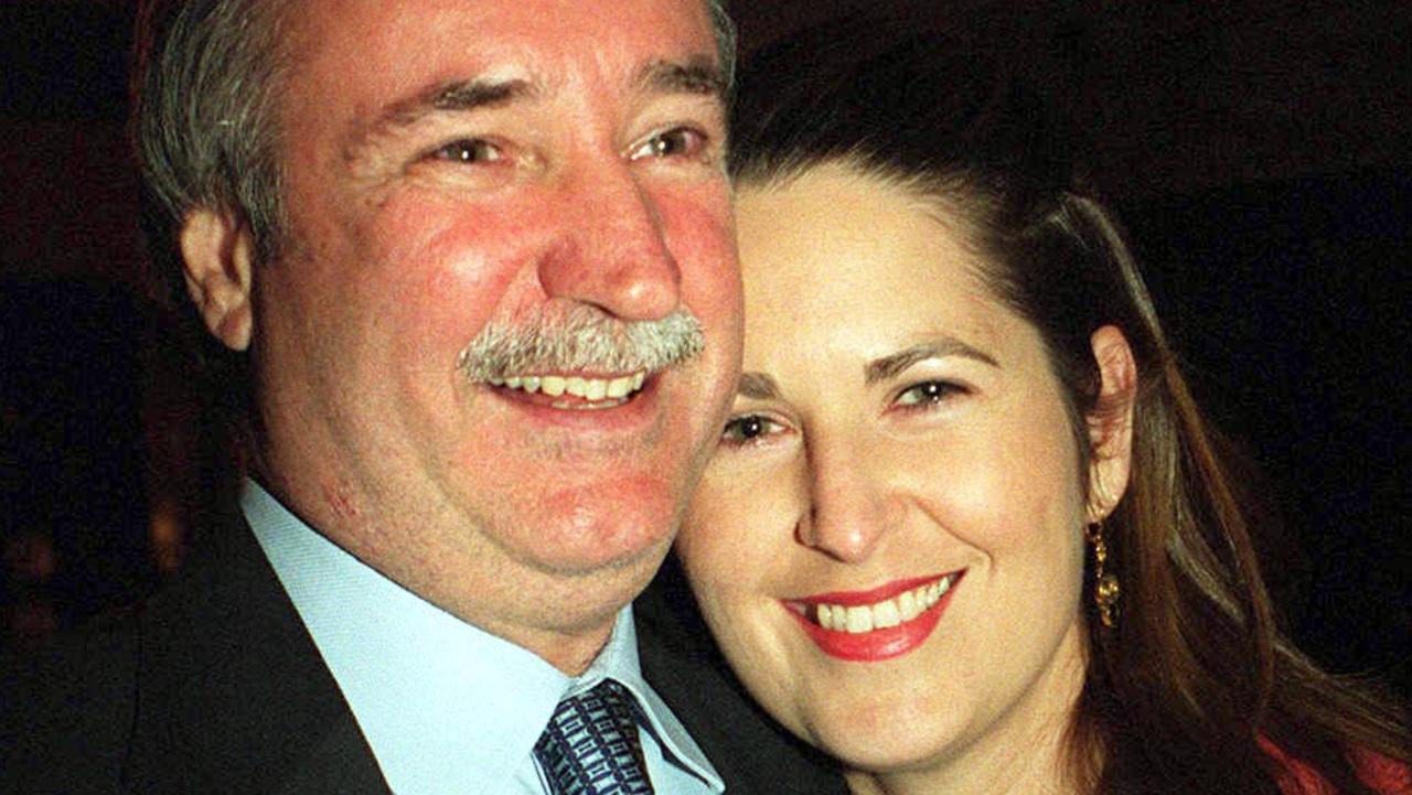 Macarthur Coal's Ken Talbot and wife Amanda
