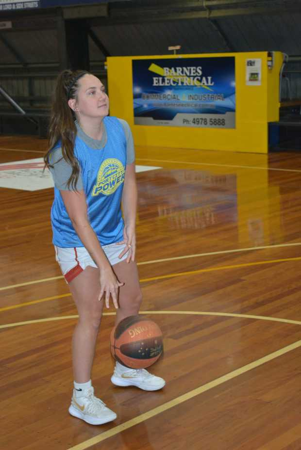 Image for sale: The Power's Erin Geer and Mitch Knight have risen to the occassion for the respective Power sides in the QBL.