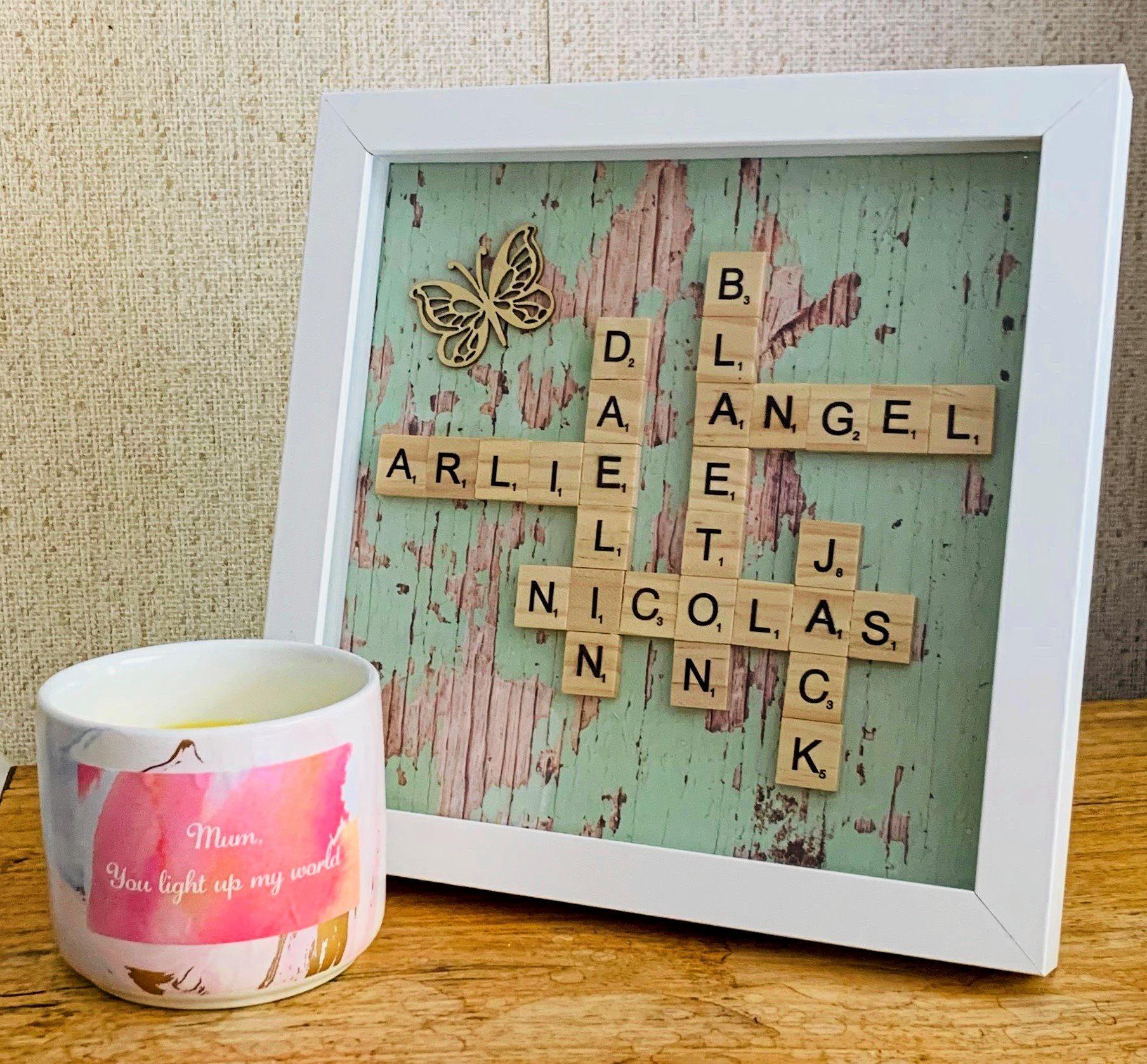 HANDMADE TREASURE: Local artist Kia-Melisse Manders creates beautiful customised gifts to sell online.