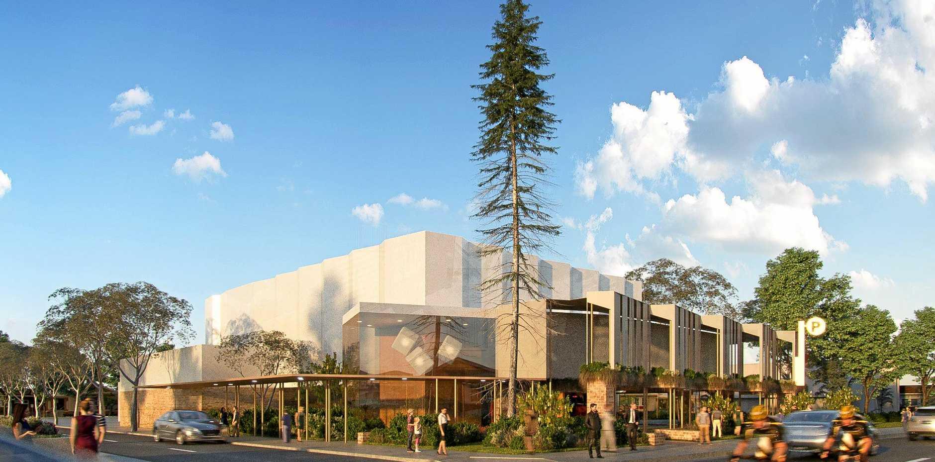 SLICK: A design for the new Proserpine Entertainment Centre.