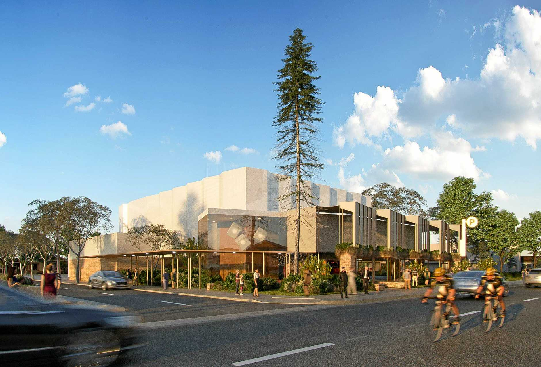 SLICK: A design for the new Proserpine Entertainment Centre.
