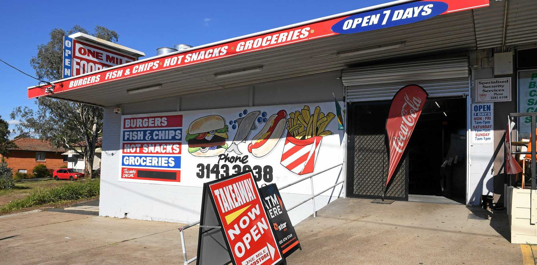 UP FOR SALE: The One Mile Foodstore will go under the hammer on July 5.