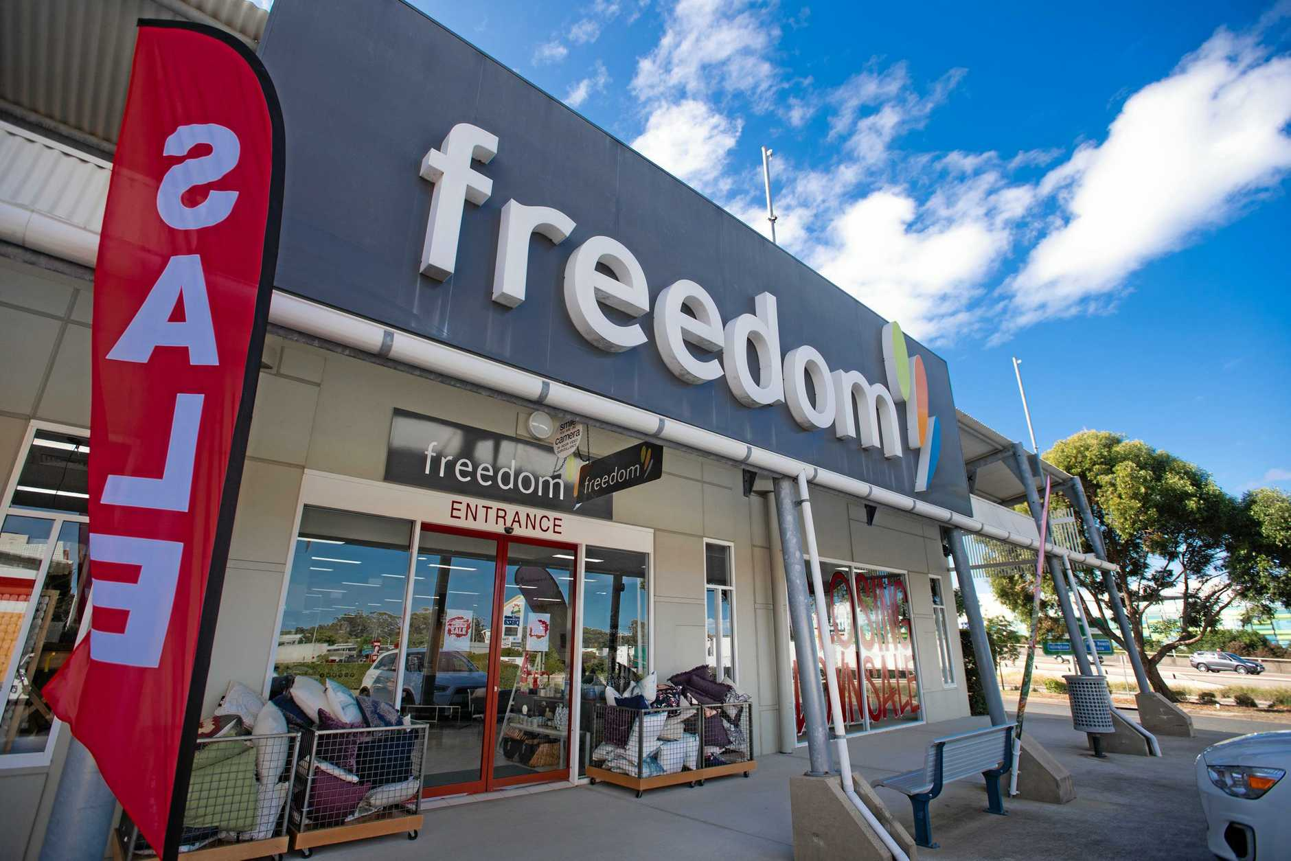 Owner of Coffs Harbour Freedom Furniture Leanne Watson. Store to close. Closing down sale.. 20 JUNE 2019