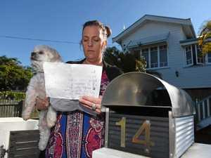 'Shut the mutt up': Pet poisoned after death threat