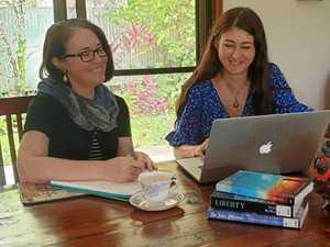 Mentors make wartime novel a reality