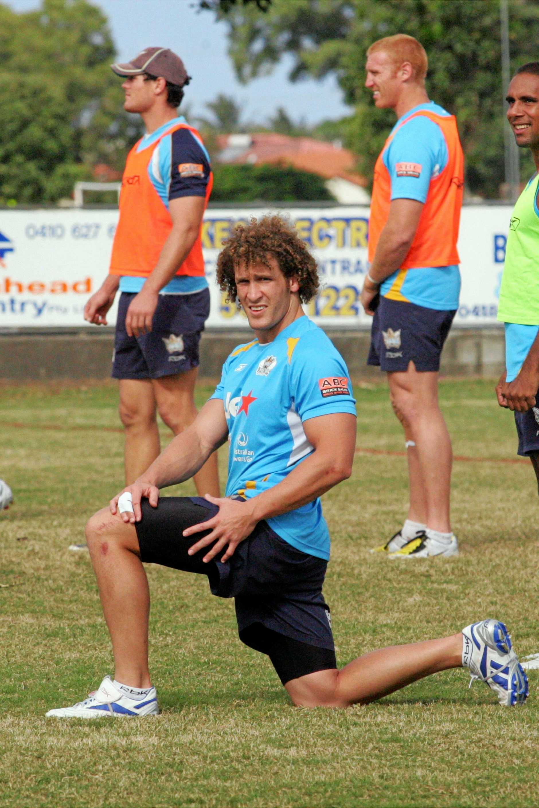 Titans player Matt Peterson began his career in WA.