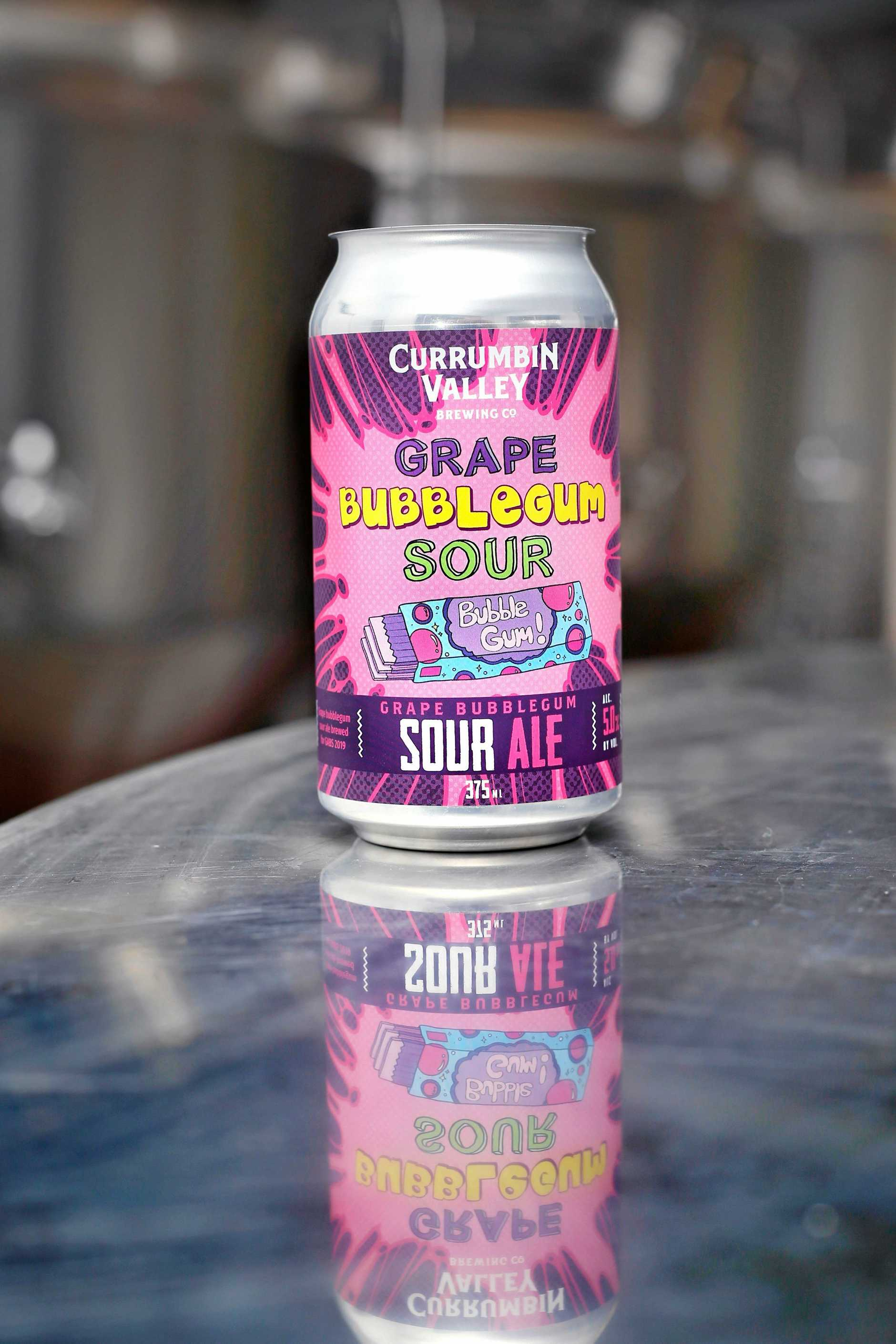 The Grape Bubblegum Sour was officially recognised at a recent beer event.