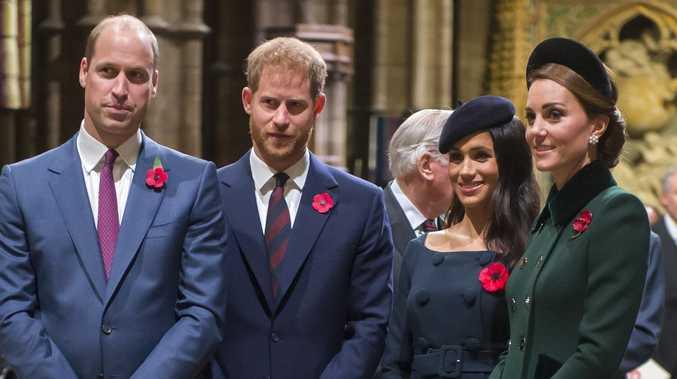 Harry, Meghan 'split' from William, Kate