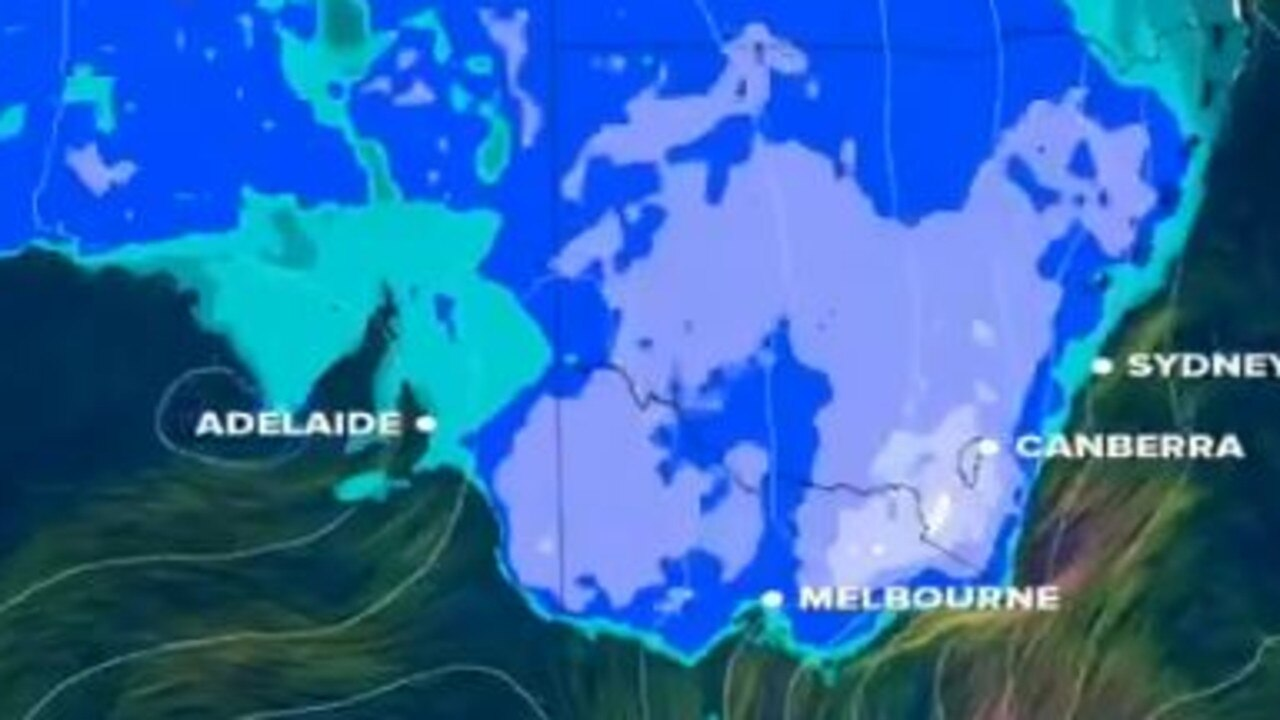 Weather across Australia's southeast will be cold for a few days.