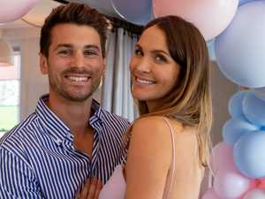 Bachelor couple reveal baby name