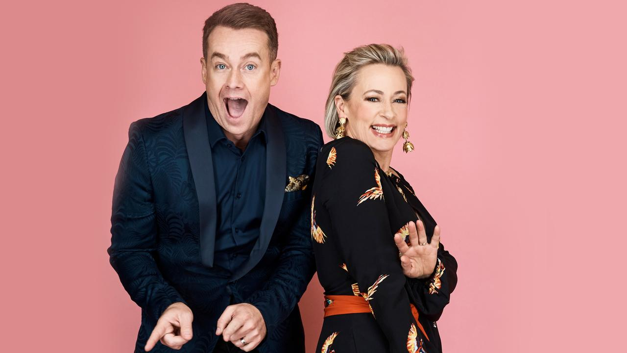 Grant Denyer and Amanda Keller hosted Dancing with the Stars.
