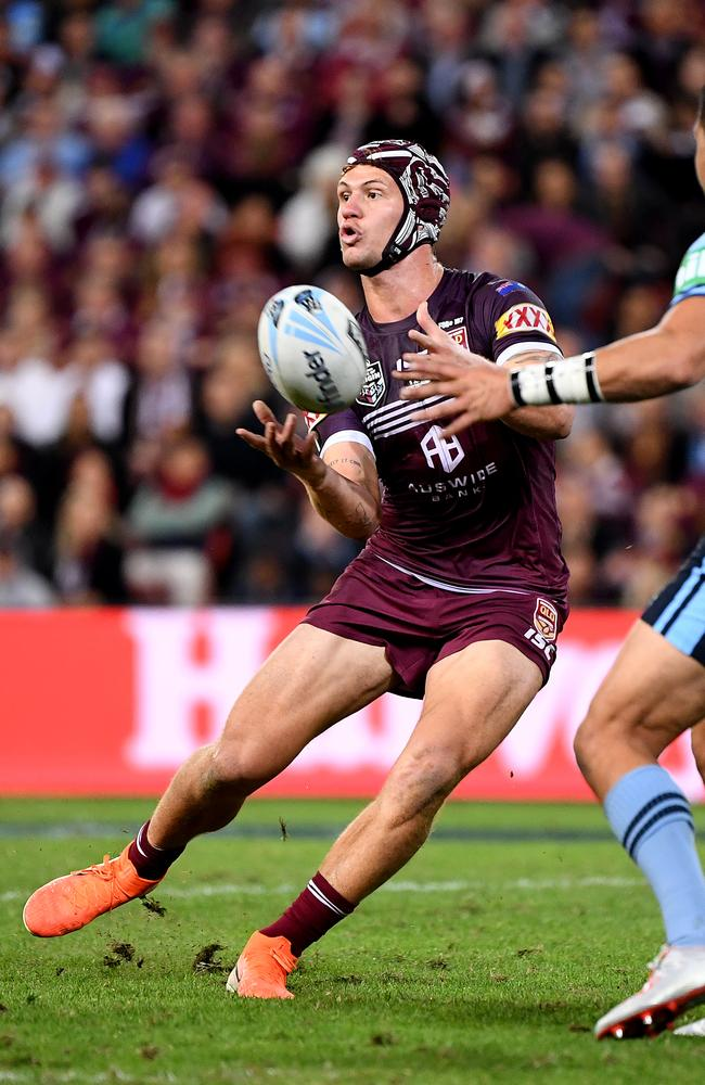 Tedesco says Ponga makes him a better player. Picture: Dave Hunt