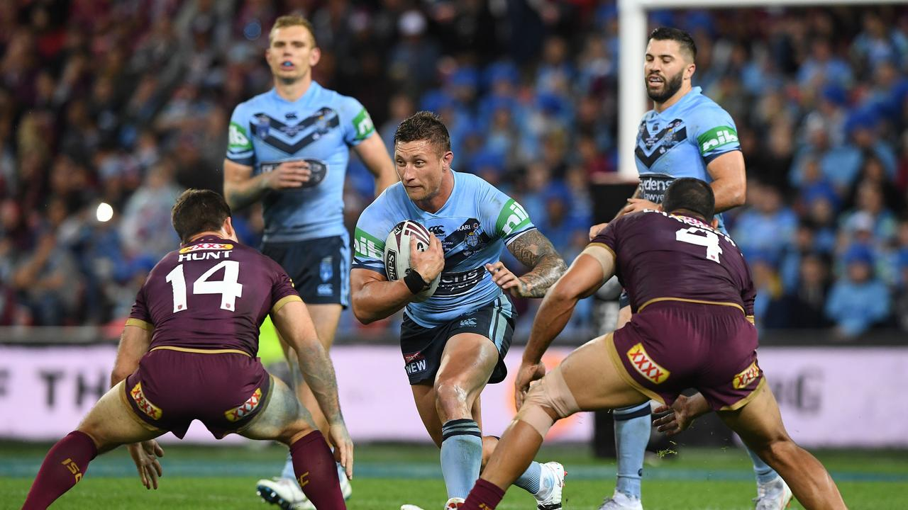 Tariq Sims has proven himself in the Origin arena. Picture: AAP