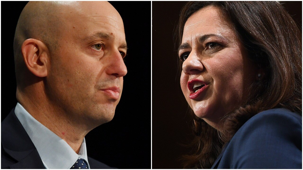 Todd Greenberg and Annastacia Palaszczuk