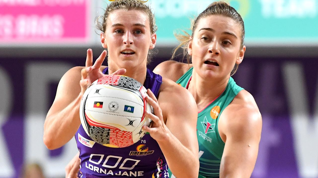 Firebirds captain Gabi Simpson is still in the running for a Diamonds spot.