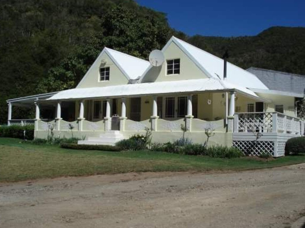 The family were at the farmhouse in Hankey, Eastern Cape, when the horrifying attack took place. Picture: Jamie Pyatt