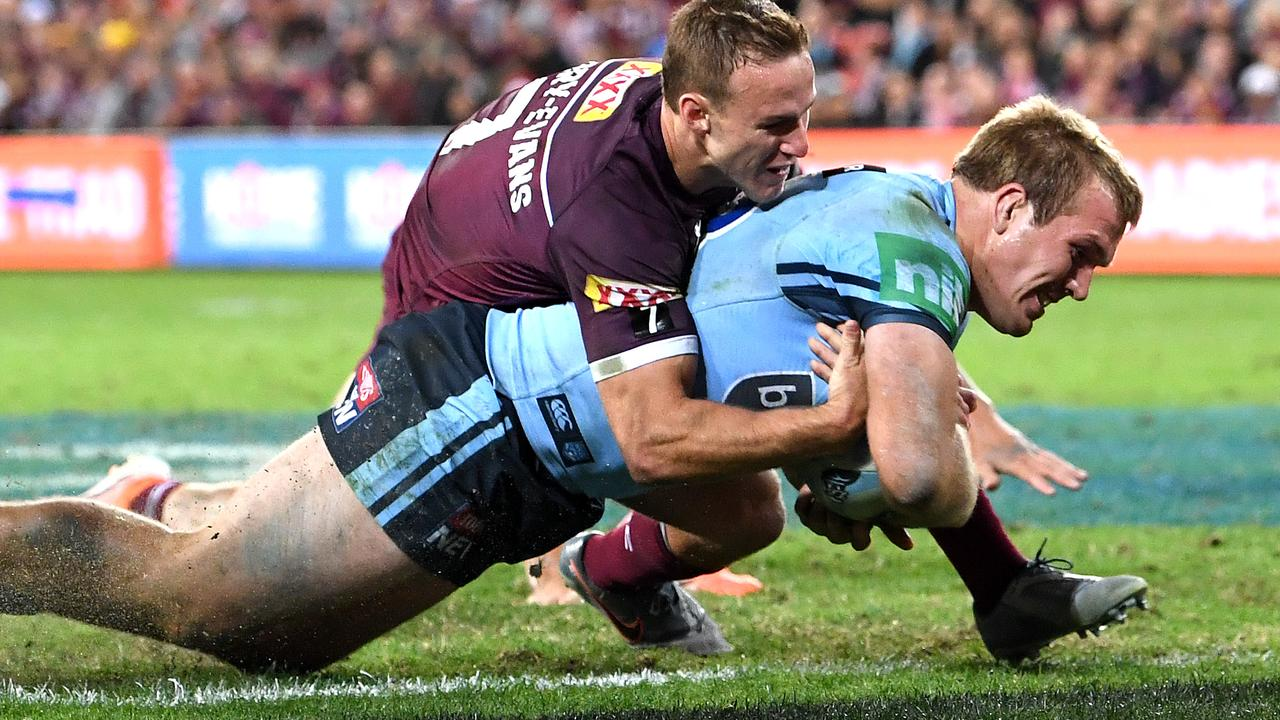 Jake Trbojevic is a vital weapon for NSW. Image: Bradley Kanaris/Getty Images