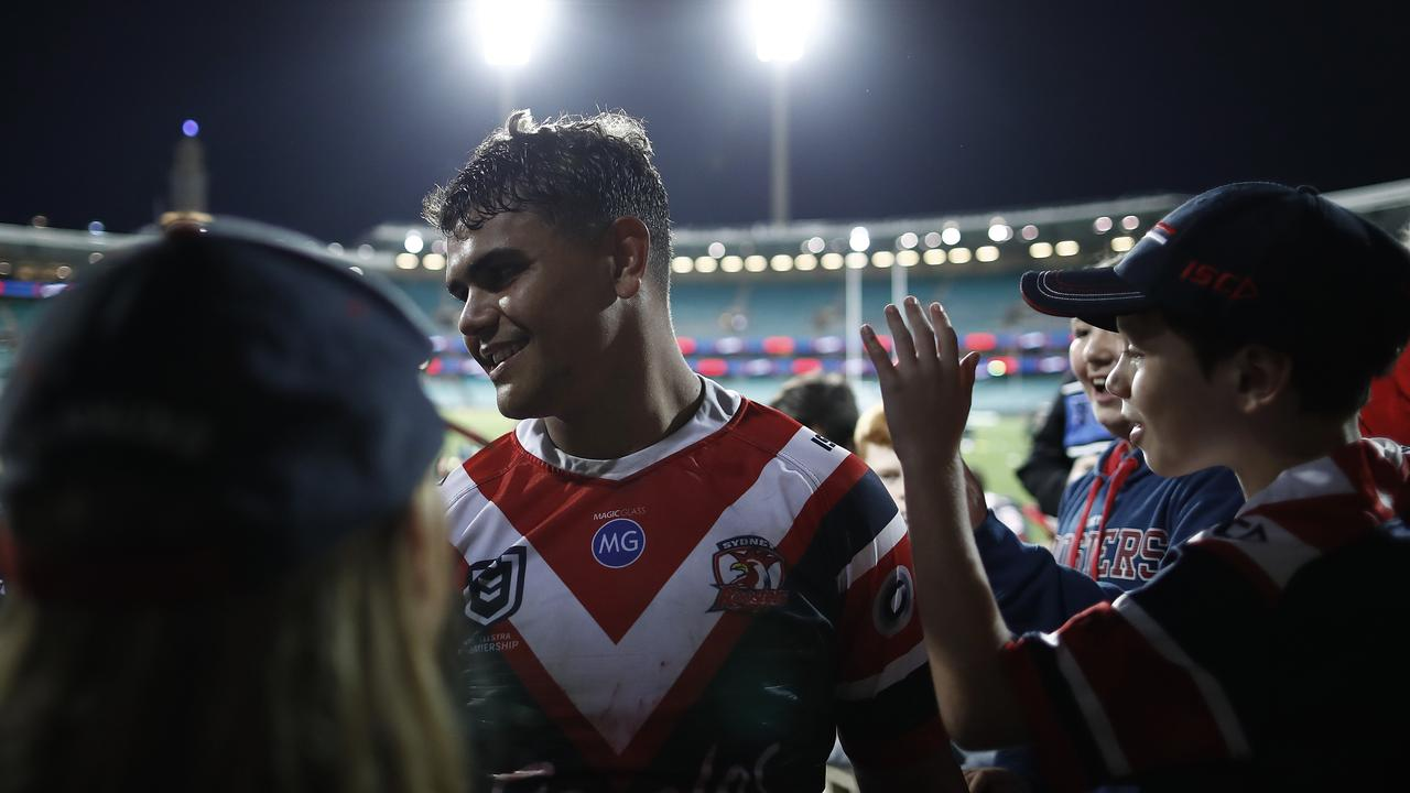 Mitchell knows he's got it good at the Roosters. Image: Ryan Pierse/Getty Images