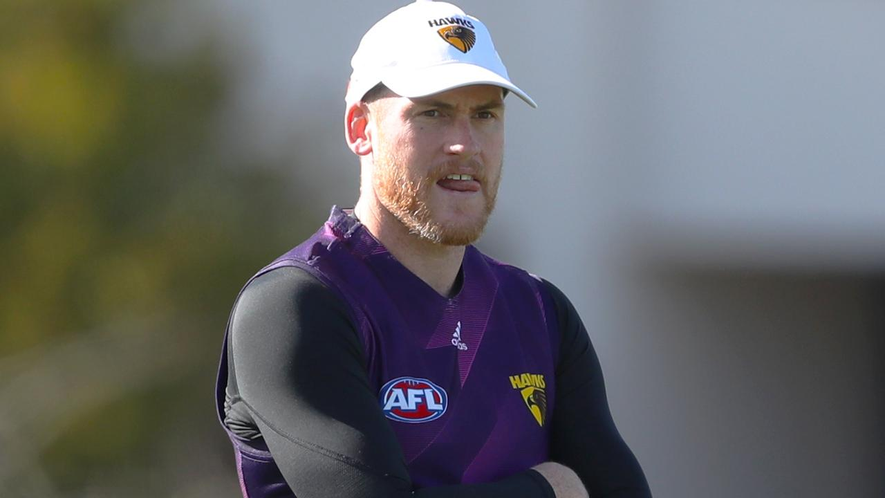 Jarryd Roughead is thinking about life after playing. Pic: AAP