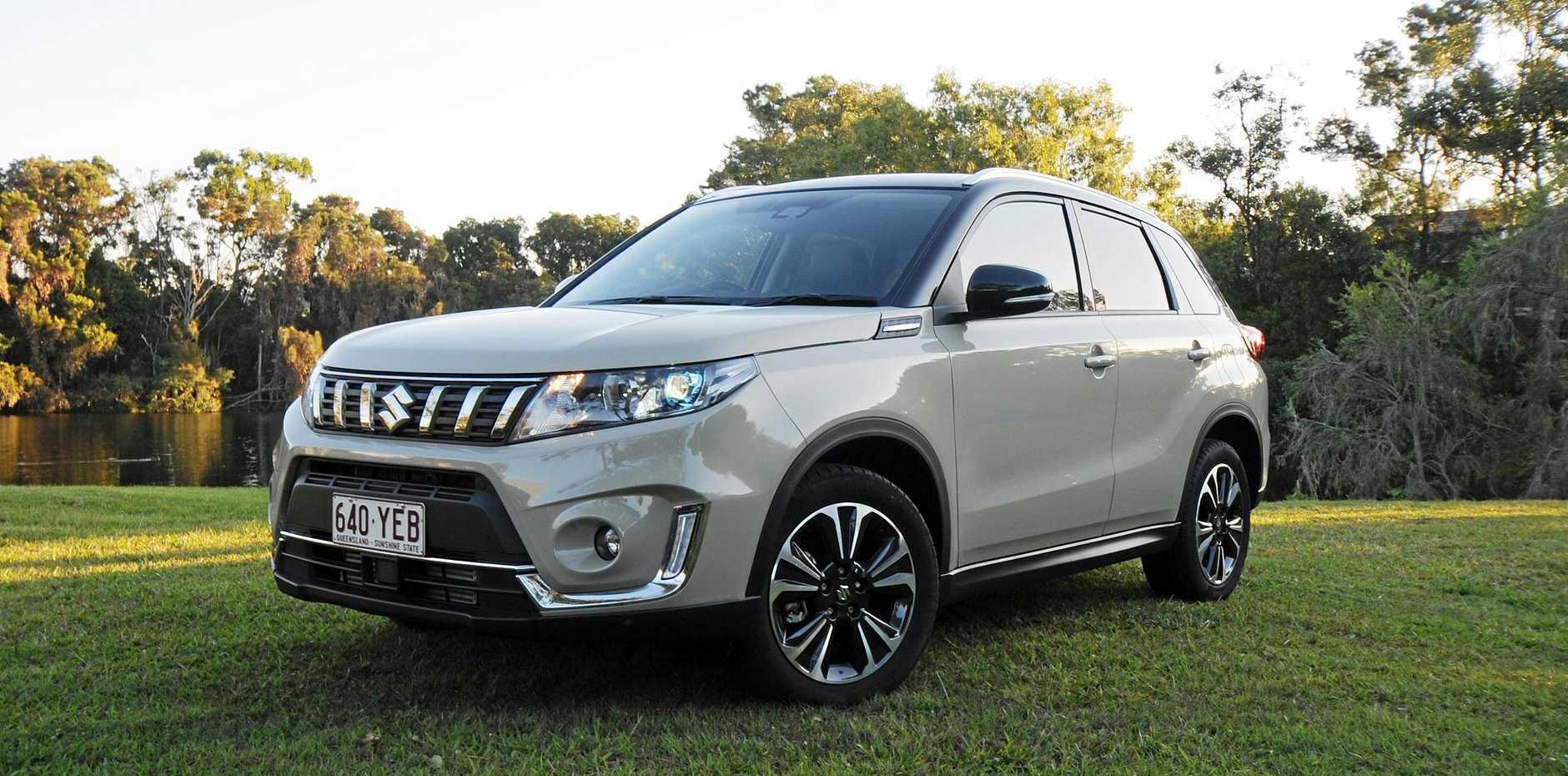 The Suzuki Vitara GLX.